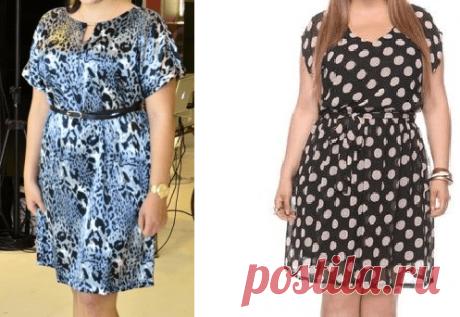 Выкройка платья. БОЛЬШИЕ РАЗМЕРЫ (Шитье и крой) – Журнал Вдохновение Рукодельницы