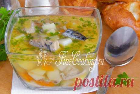 Суп с рыбными консервами - рецепт