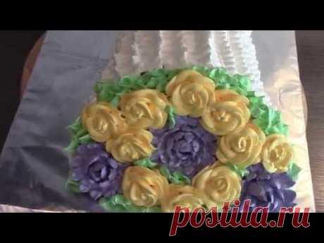"La torta \""el Ramo de flores\"""