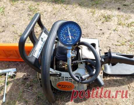 Раскоксовка поршневой бензопилы без разборки двигателя. | AvtoTechLife | Яндекс Дзен