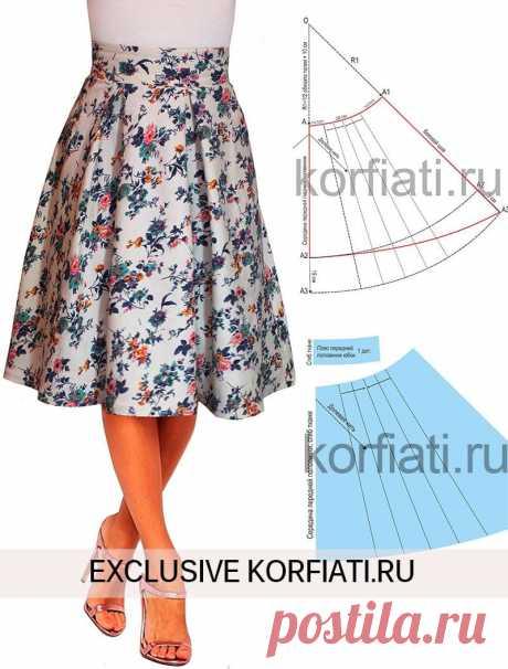 Выкройка юбки с асимметричным подолом  https://korfiati.ru/2015/07/vyikroyka-yubki-s-asimmetrichnyim-podolom/  Пышная и яркая — летящая юбка — на вершине популярности уже не первый сезон. Но модницы по-прежнему продолжают отдавать свое предпочтение именно такому фасону: асимметричный подол – чуть короче спереди и чуть длиннее сзади, широкий клеш книзу и встречные складки по талии. Добавьте цветочный принт – и, вуаля! – перед вами настоящий хит!
