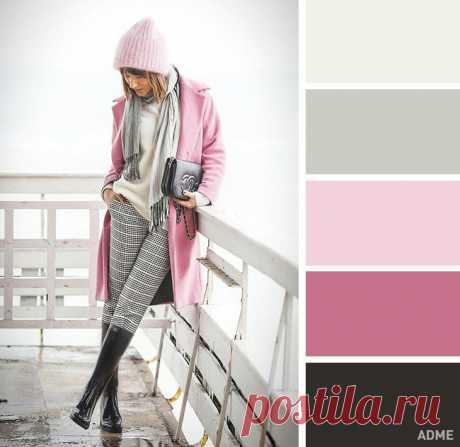 В холода особенно хочется выглядеть ярко и стильно: 15 идеальных цветовых сочетаний в одежде для зимы