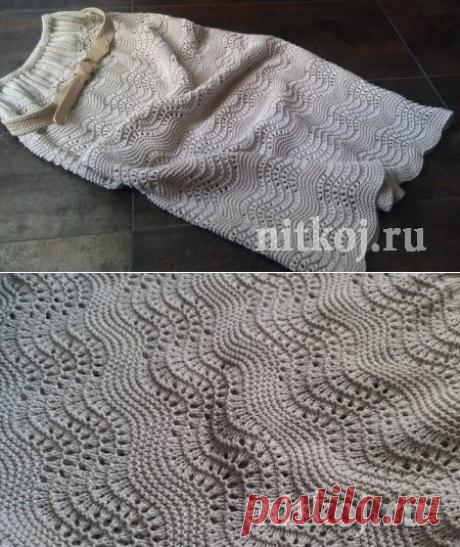 Красивейшая юбка спицами » Ниткой - вязаные вещи для вашего дома, вязание крючком, вязание спицами, схемы вязания