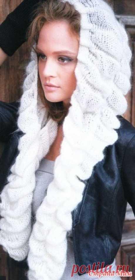 Вяжем шапочку-шарф Ну вот мы начинаем он-лайн по вязанию шапки-шарфа! вот тут был опрос: https://www.stranamam.ru/