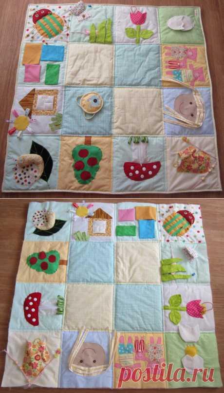 Матрёшкин блог: Как сшить развивающий коврик. МК