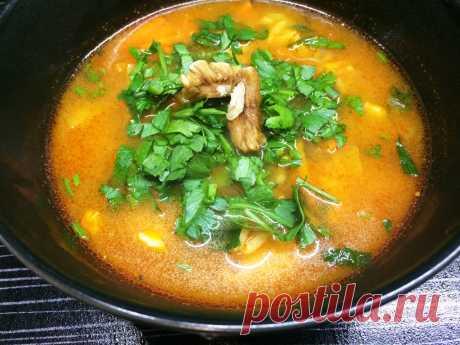 Харчо - ароматный, насыщенный суп