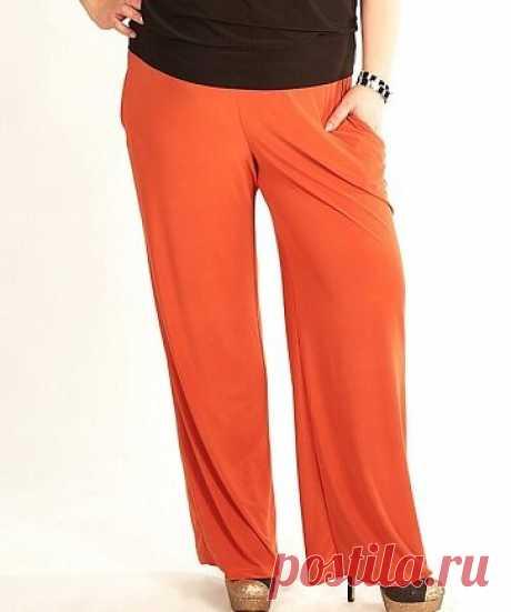 Летние брюки для полных дам. Выкройка. Размеры 58-60. Бесплатно | Вертолет на пенсии | Яндекс Дзен
