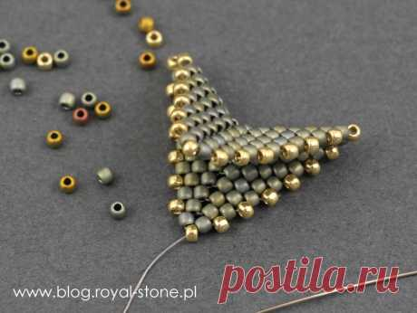 Dracconis – smocze kolczyki z koralików – tutorial | Royal-Stone blog