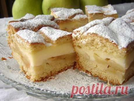 Пирог с яблочным пюре - Рецепт с фото, состав, калорийность Пошаговый рецепт приготовления пирога с яблочным пюре в домашних условиях. Вкусный и сладкий пирог своими руками - рецепт с фото, состав, калорийность