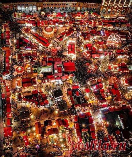 Рождественская ярмарка в Германии.