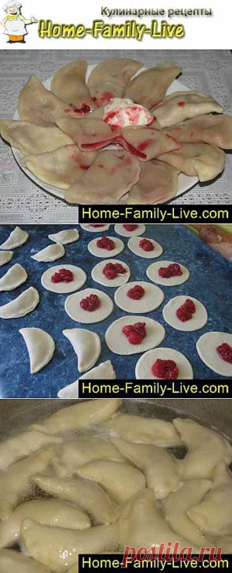 Вареники с малиной - пошаговый фоторецепт - вареники с ягодой малины | Кулинарные рецепты