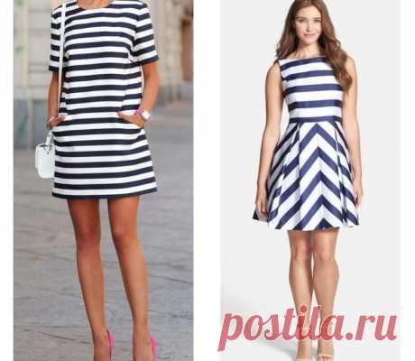Модное полосатое лето - отличный вариант / Все для женщины