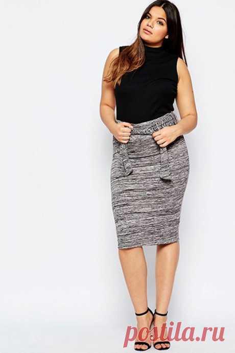 Лучшие модели юбок для женщин с выступающим животом (+ фото)