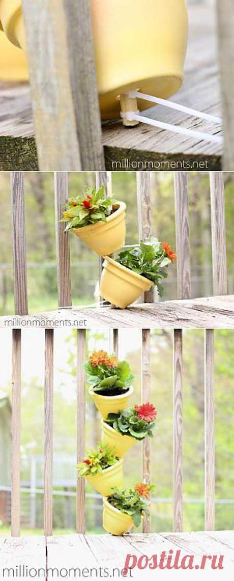 (+1) - Как создать вертикальный сад на балконе | СДЕЛАЙ САМ!