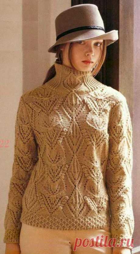 Оригинальные воротники в моделях одежды. Вязание спицами. | Марусино рукоделие | Яндекс Дзен