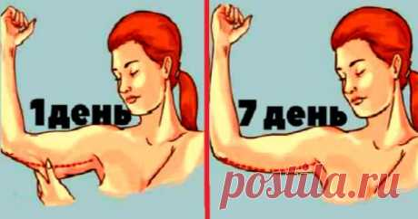 Правило тридцати взмахов. Или как сделать руки стройнее не вставая с дивана Одевая любую вещь с открытыми руками, мы невольно притягиваем взгляды окружающих. Однако не у всех мышцы рук идеально подкачены. Даже сидя на диете, эта часть тела худеет меньше всего, а иногда и вовс