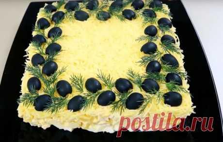 Вкусный салат на 8 марта - Лучший сайт кулинарии