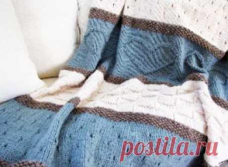 Как связать плед спицами: советы экспертов Пошаговое описание, как связать плед спицами. Мастер-класс по вязке пледов из квадратов, крупной вязке, вязке косами. Схемы пледов для новорожденных и детей. Пледы на диван и кровать.