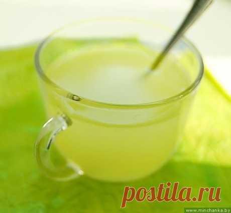 Витаминный напиток - имбирный лимонад!   Кулинарные Рецепты