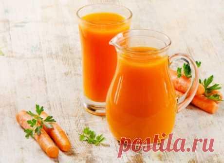 Витамины всю зиму: готовим морковный сок | Кулинарные рецепты блюд