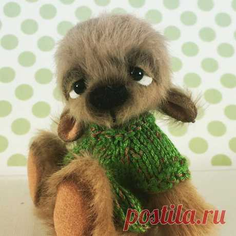 Oakes #bleebears #miniature #artist #teddy #bear #forsale