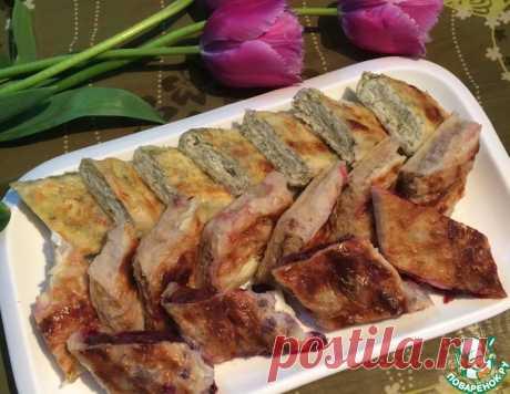 Быстрые плацинды из лаваша – кулинарный рецепт