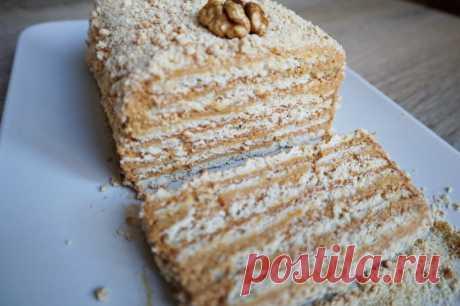 Торт без выпечки из трех ингредиентов — Кулинарная книга - рецепты с фото