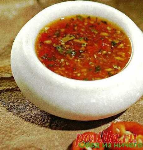 Как приготовить домашний соус чили | Обед из ничего