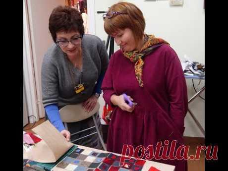 Цвет в авторском костюме К. Дмитриевой - мастер-класс часть 5 практические занятия.