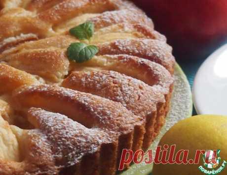 Грушево-яблочный пирог – кулинарный рецепт