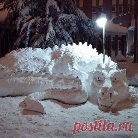 Снежное творение