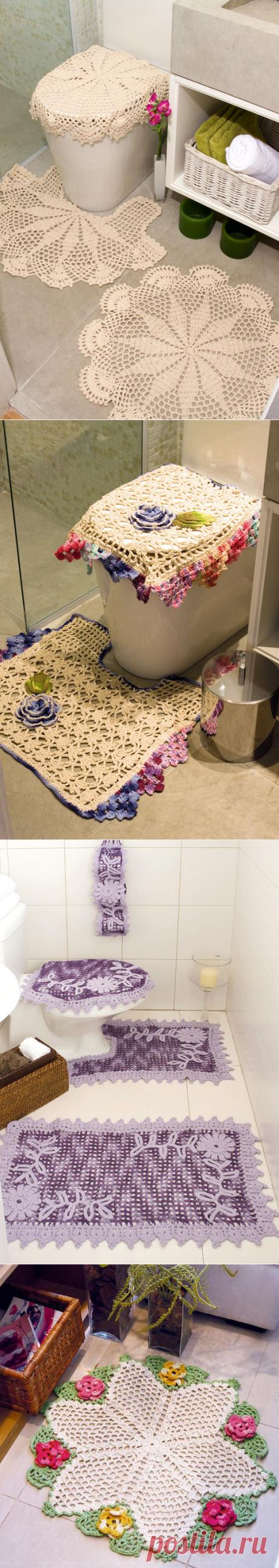 Комплект для ванной комнаты -крючком
