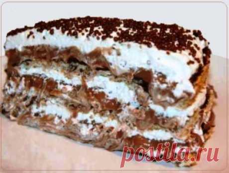 Шоколадный торт «Несквик»  