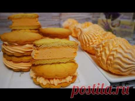 Апельсиновый зефир без уваривания. ЗЕФИРОСЕНДВИЧИ.Рецепт песочного печенья. Зефир в домашних условия