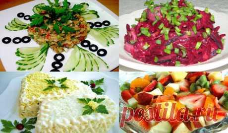 Простые и вкусные, праздничные салаты на день рождения. 3 лучших рецепта + видео - Копилка идей