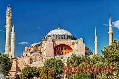 Собор Святой Софии в Стамбуле   ТАЙНЫ ПЛАНЕТЫ ЗЕМЛЯ