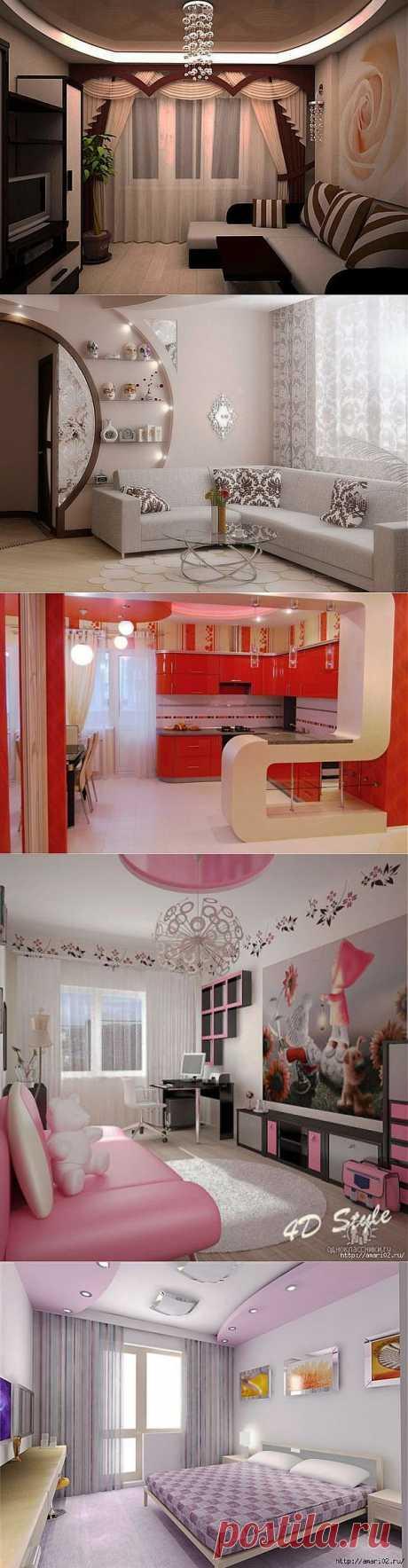 Новые идеи дизайна квартир с мебелью с услугами от КаргоЭкспертСистем..