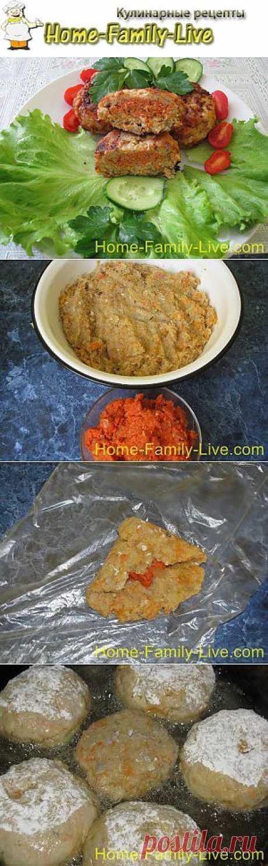 Котлеты из двух сортов рыбы - пошаговый фоторецепт | Кулинарные рецепты