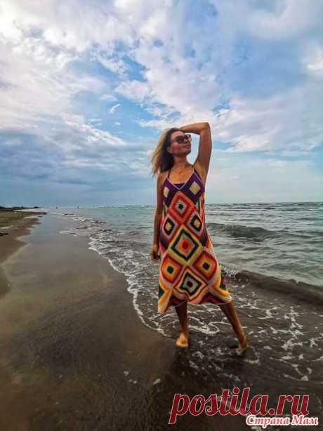 Пляжный сарафан от Zara в моем исполнении - Вязание - Страна Мам
