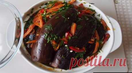 Fermented eggplants. My most crown recipe