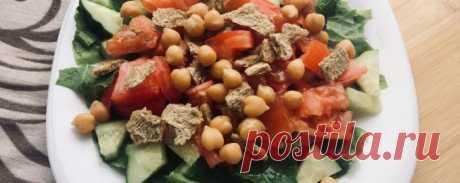 Веганский салат Цезарь - Диетический рецепт ПП с фото и видео - Калорийность БЖУ