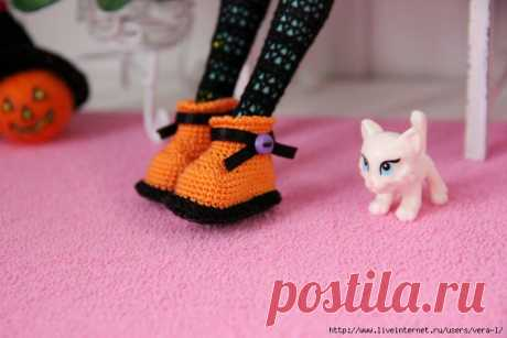 Ботинки для кукол