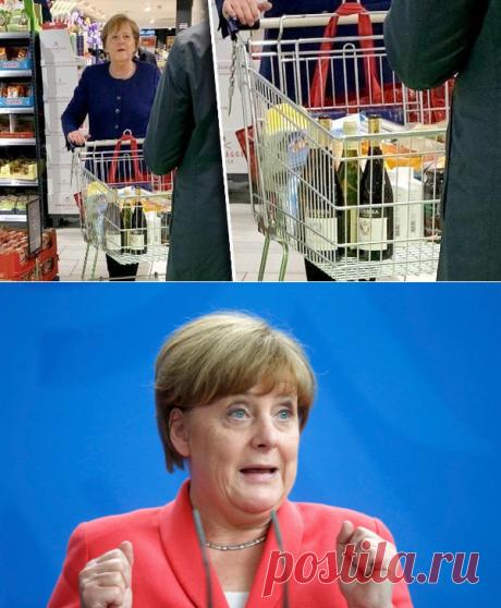 Меркель засняли запокупкой туалетной бумаги ивина — Рамблер/новости