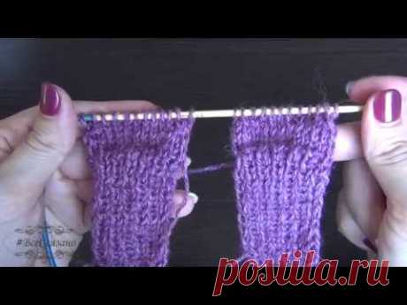Идеальные Носочки для малыша на двух спицах (Вязание спицами) — Журнал Вдохновение Рукодельницы