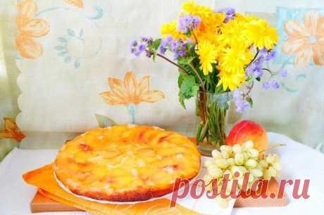 Персиковый пирог — Sloosh – кулинарные рецепты
