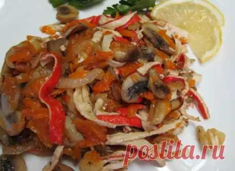 Открыла для себя новый рецепт салата с жареными крабовыми палочками (едят даже те, кто их нелюбит) - Карельские Вести - медиаплатформа МирТесен