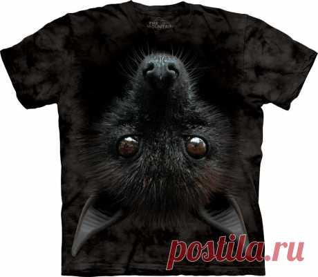 Арт № 103554 Футболка  3D The Mountain Classic -Bat Head Бесшовная футболка -варенка 100% хлопок Размеры Детские S, M, L,XL  +  Взрослые  S, M, L,XL, XXL, XXXL Рисунок нанесен красками на водной основе. Не выгорает, не тянется