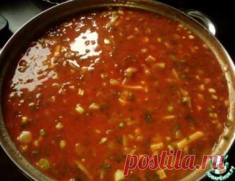 """Холодный суп """"Мурцовка"""" - кулинарный рецепт"""