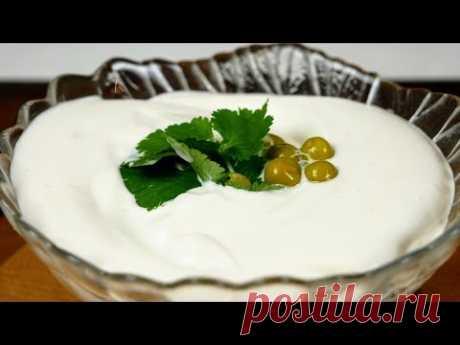 Оригинальный ПОСТНЫЙ майонез, цыганка готовит. Гороховый майонез. Gipsy cuisine.