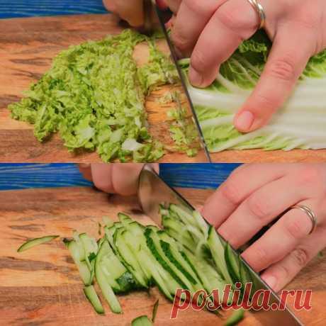 Два гениальных салата, которые украсят новогодний стол